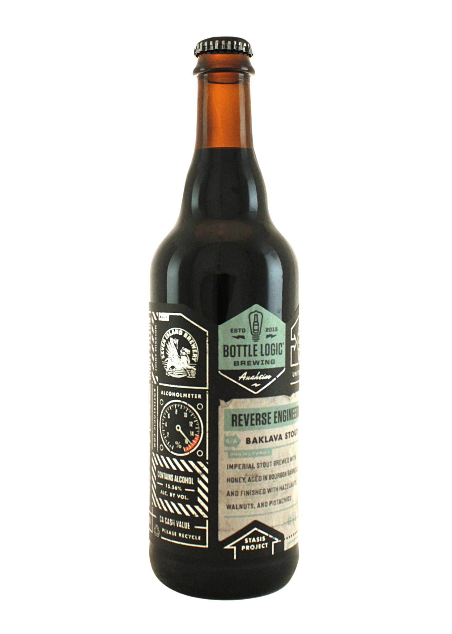 "Bottle Logic Brewing ""Reverse Engineering"" Baklava Stout 500ml. bottle - Anaheim, CA"