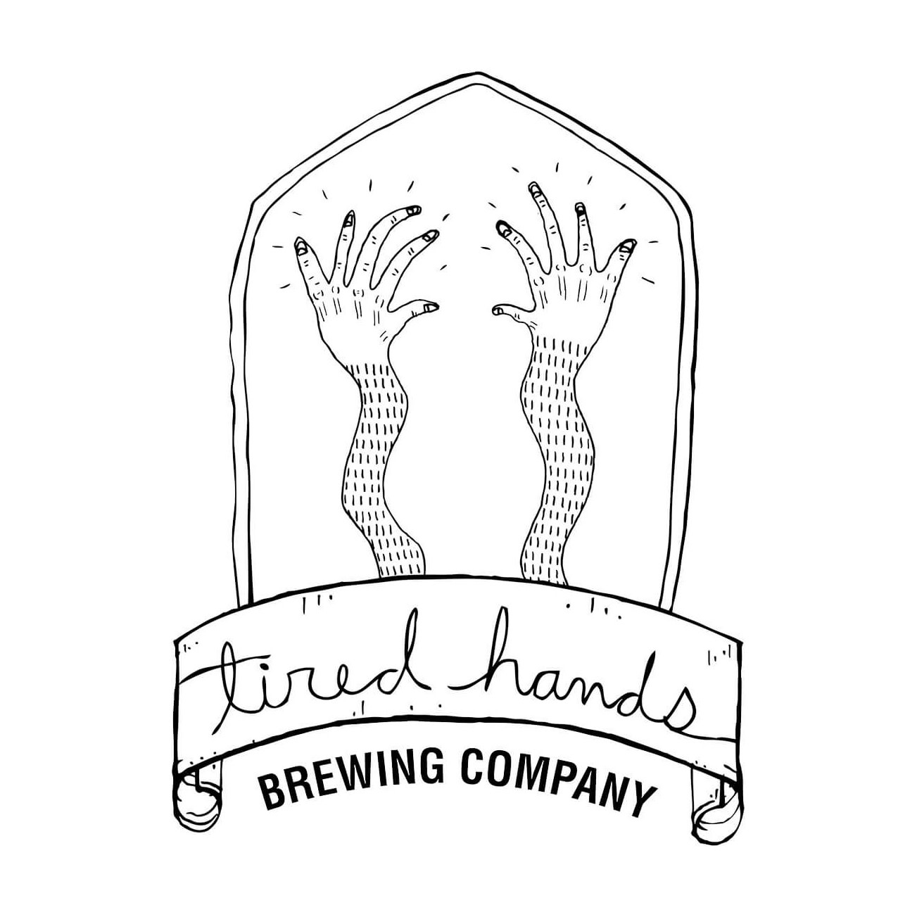 """Tired Hands Brewing """"Frequency Illusions: Bluecrop"""" Blueberry honey saison 750ml bottle- Ardmore, Pennsylvania"""