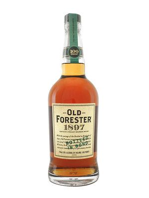 Old Forester 1897 Kentucky Straight Bourbon Whiskey, Bottled in Bond, Louisville, Kentucky