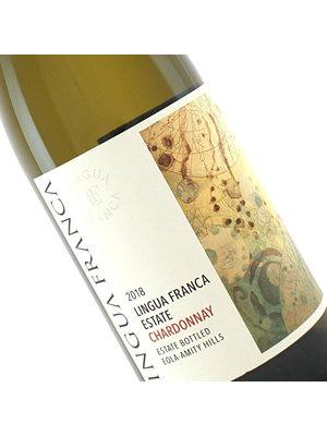 Lingua Franca 2018 Estate Chardonnay Eola-Amity Hills, Oregon