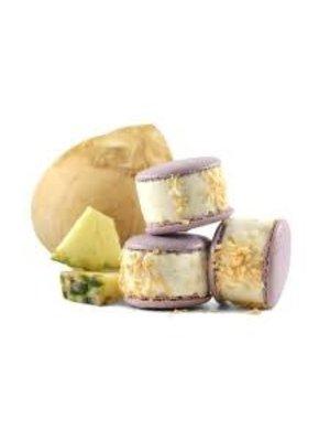 Maven's Macaron Ice Cream Sandwich - Coconut Pineapple 2.35 oz., San Jose