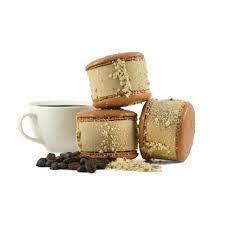 Maven's Macaron Ice Cream Sandwich - Coffee Hazelnut 2.35 oz., San Jose