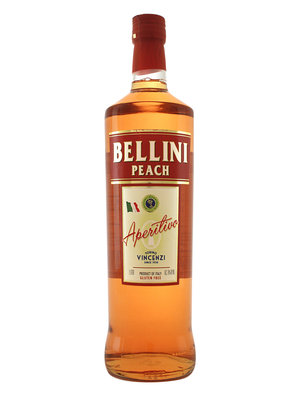 Vincenzi Bellini Peach Aperitivo 1 Liter, Torino, Italy