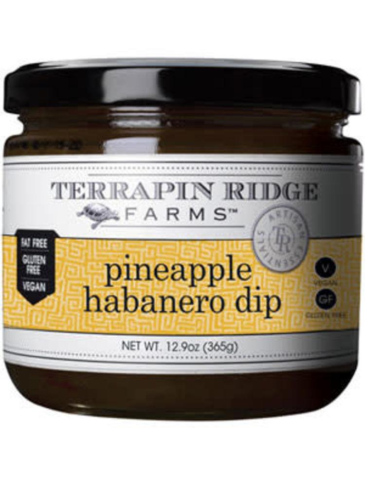 Terrapin Ridge Farms Pineapple Habanero Dip, Clearwater Florida, 12.9 oz.