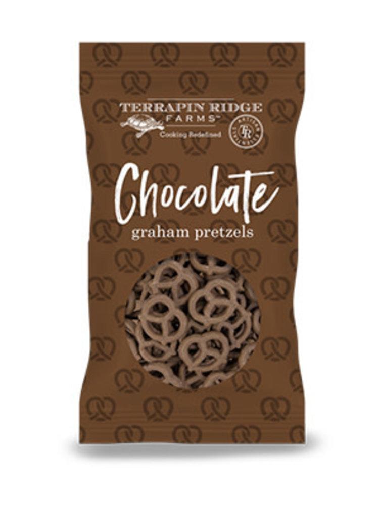 Terrapin Ridge Farms Chocolate Graham Pretzels, Clearwater, Florida 8 oz.