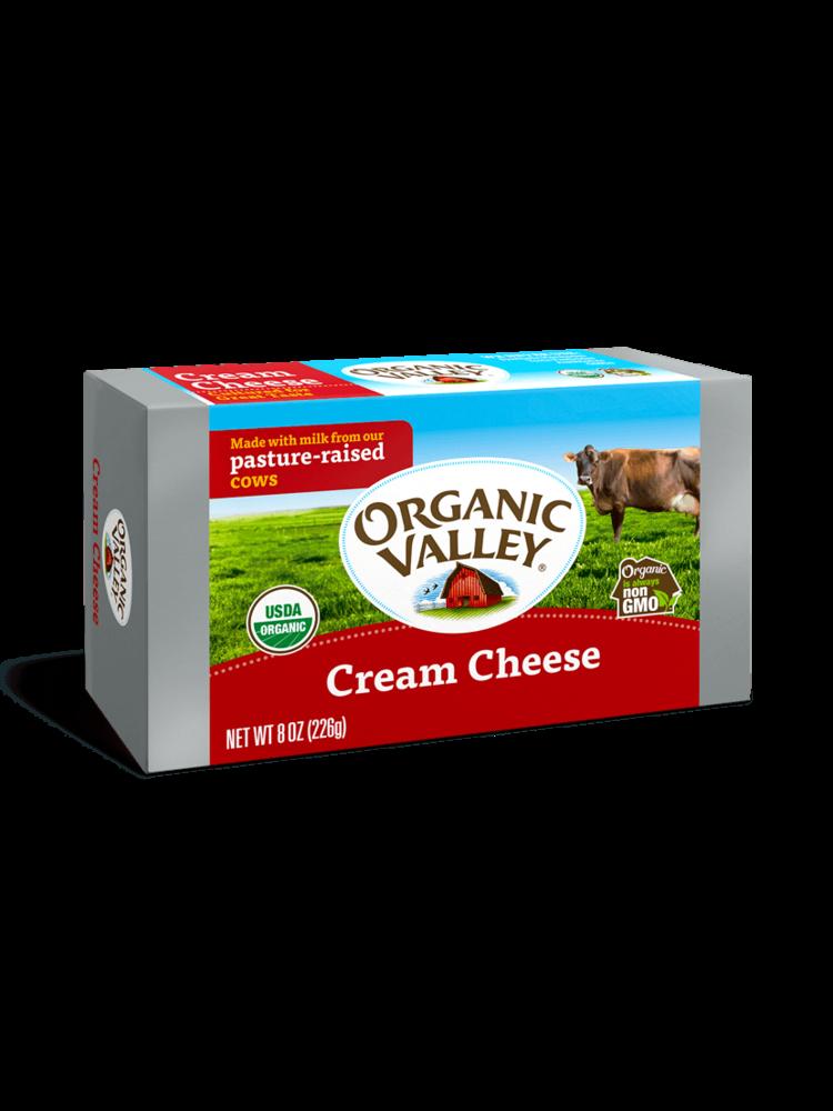 Organic Valley Cream Cheese  8.oz Block