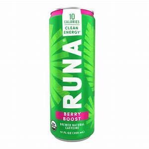 Runa Berry Boost Energy Drink, 12 fl oz