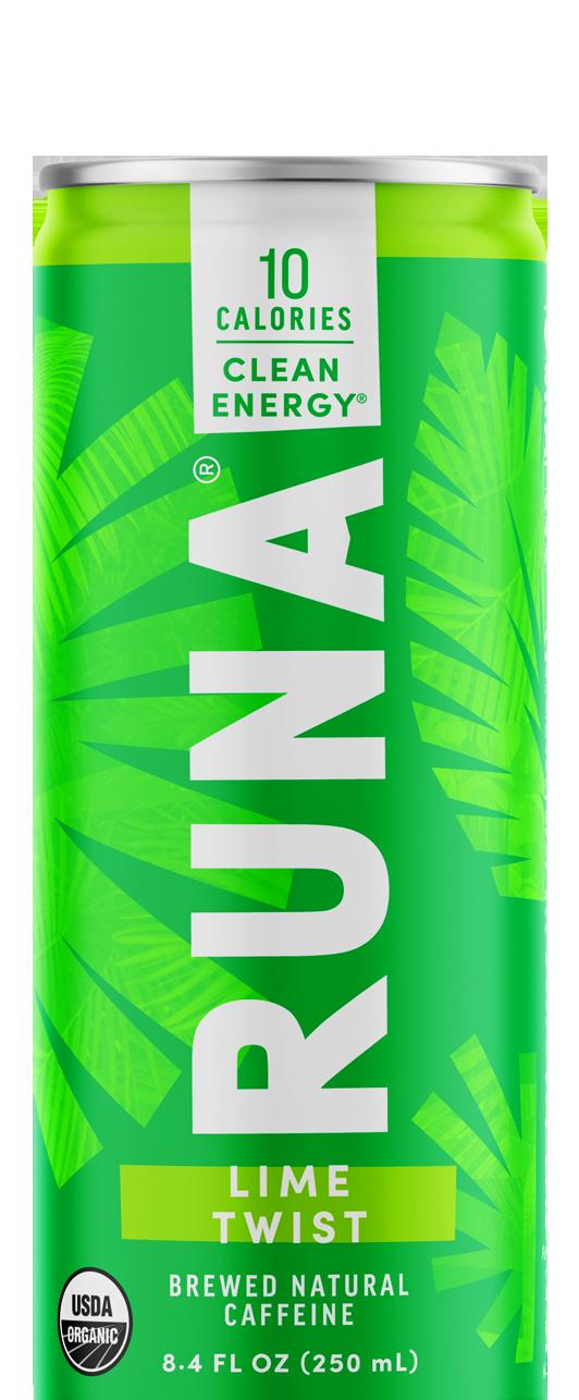 Runa Lime Twist Energy Drink, 12 fl oz