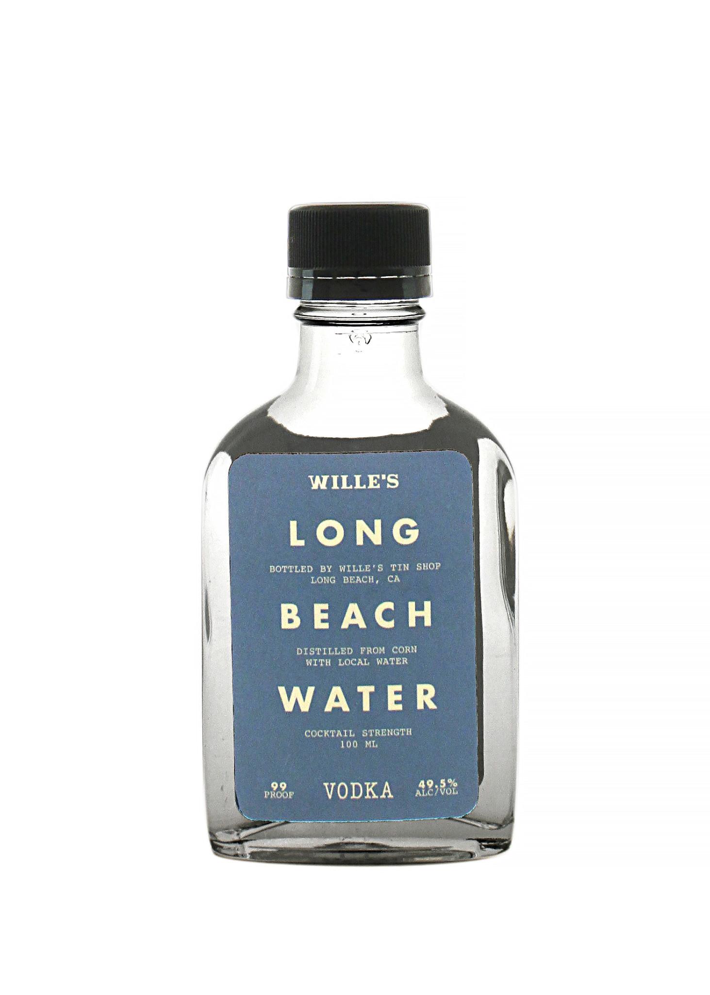 "Wille's ""Long Beach Water"" Vodka 100ml"