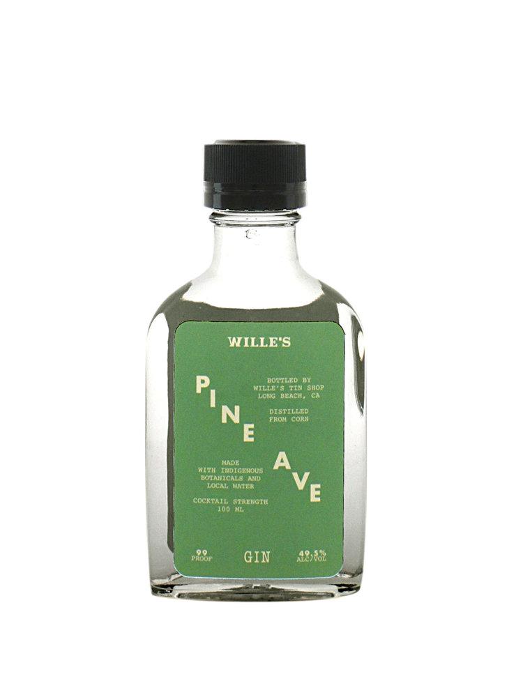 "Wille's ""Pine Ave"" Gin 100ml, Long Beach, CA"