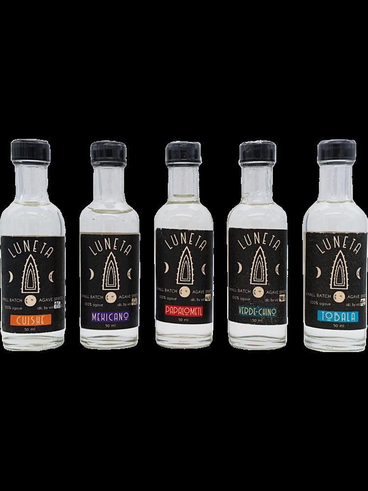 Luneta  Five Bottle (50ml)  Agave Spirit Tasting Kit