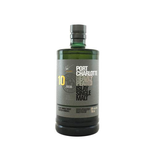 Bruichladdich Port Charlotte 10 Year Heavily Peated Islay Single Malt Scotch Whisky