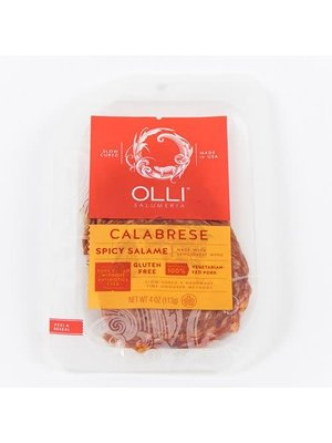 Olli Salami Spicy Calabrese Sliced 4 oz.