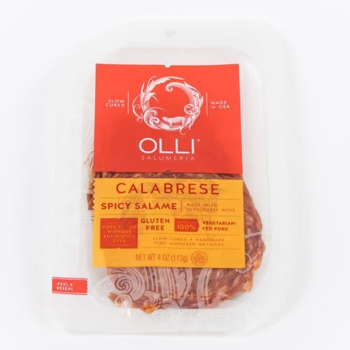 Olli Salame Spicy Calabrese Sliced 4 oz.