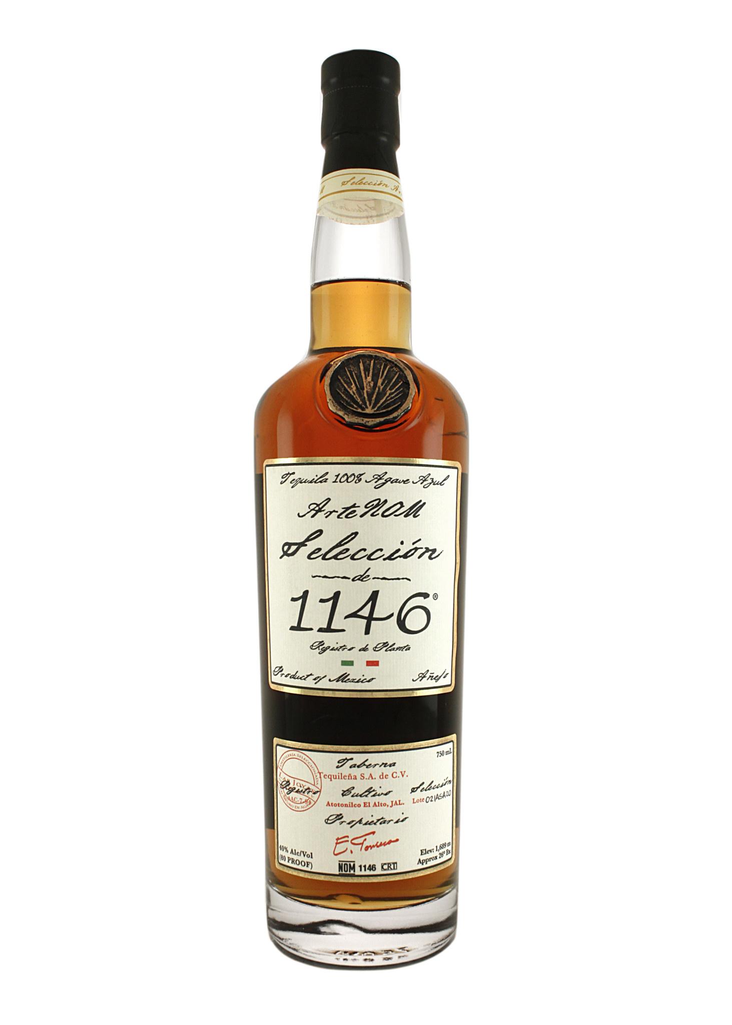 ArteNOM Seleccion 1146 Tequila Anejo