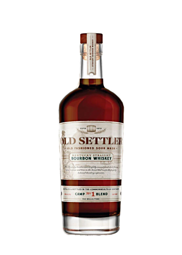Old Settler Kentucky Straight Bourbon Whiskey Camp No. 1 Blend