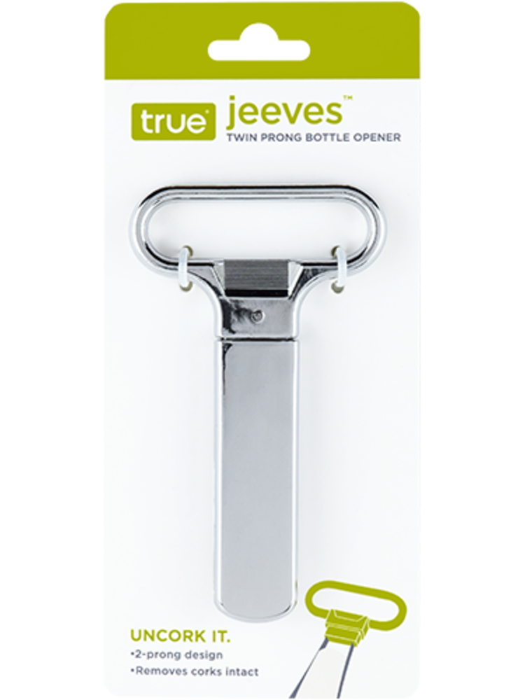 True Jeeves Two Prong Bottle Opener