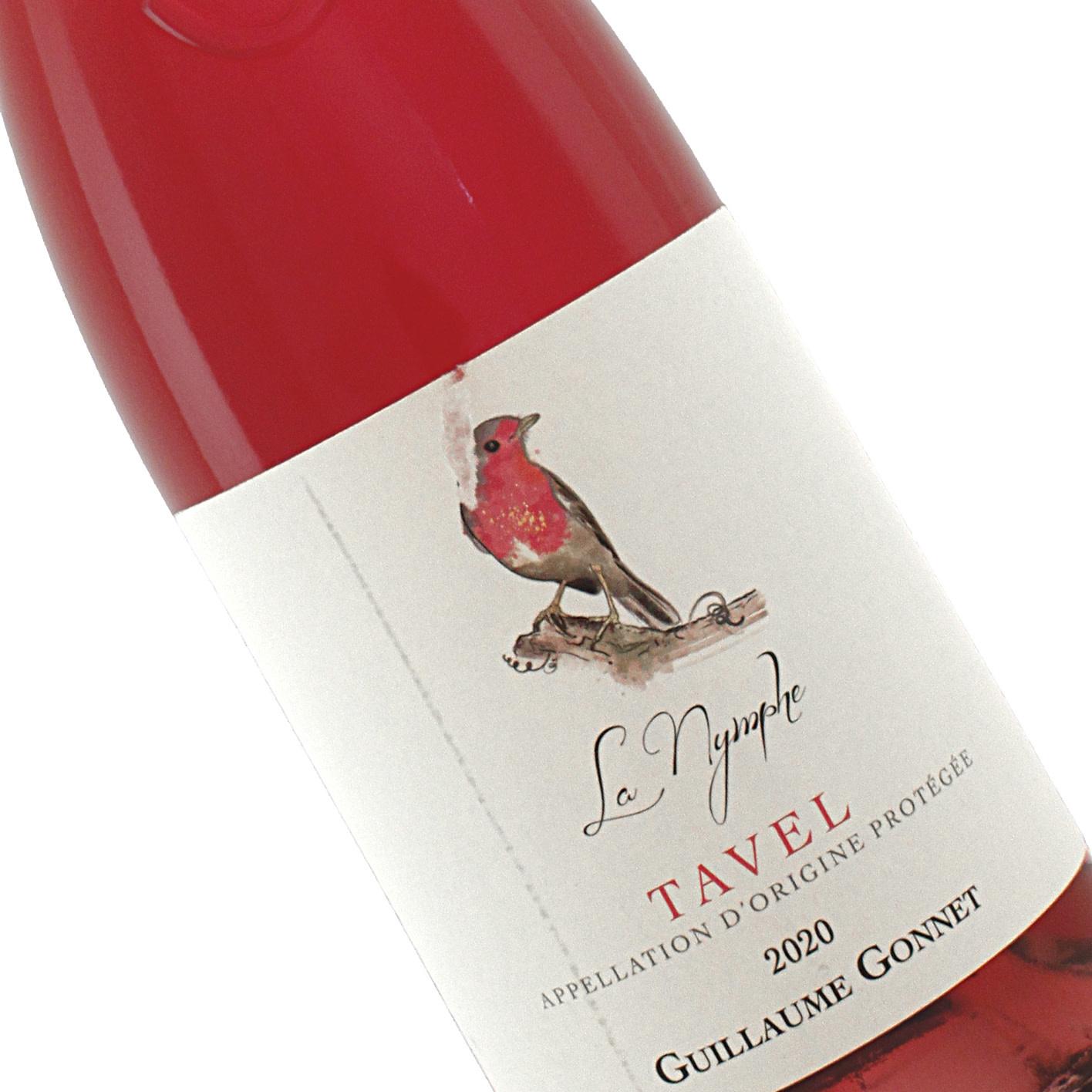 "Guillaume Gonnet 2020 Tavel Rose ""La Nymphe"" , Rhone Valley"