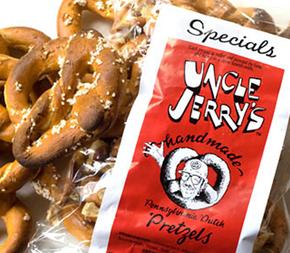 Uncle Jerry's  Handmade Pennsylvania Dutch Pretzels, 7 oz