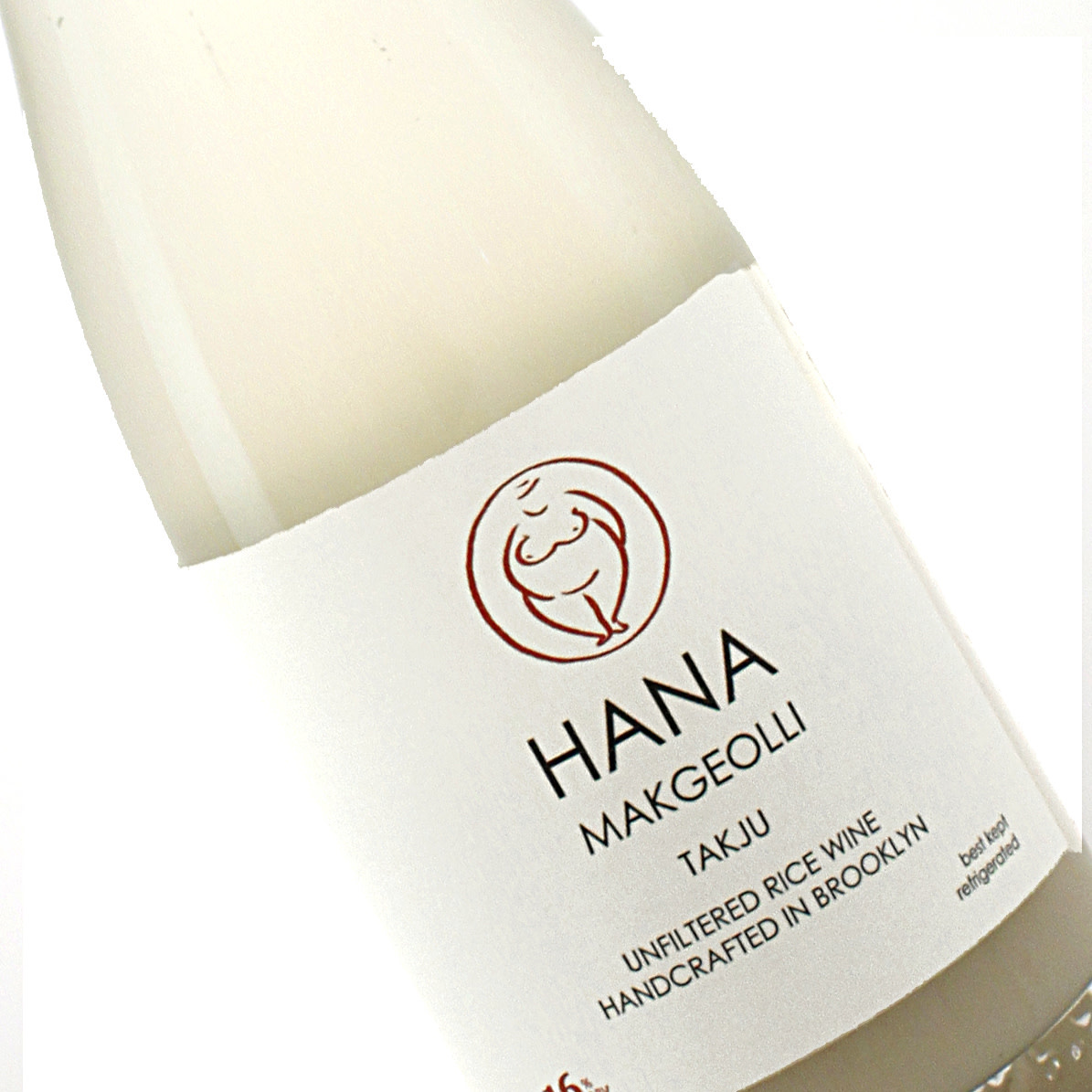 Hana Makgeolli Takju Unfiltered Rice Wine Brooklyn, NY 375ml