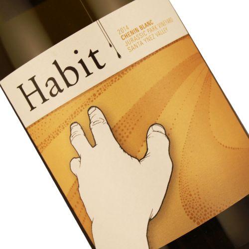 Habit 2014 Chenin Blanc Jurassic Park Vineyard, Santa Ynez Valley