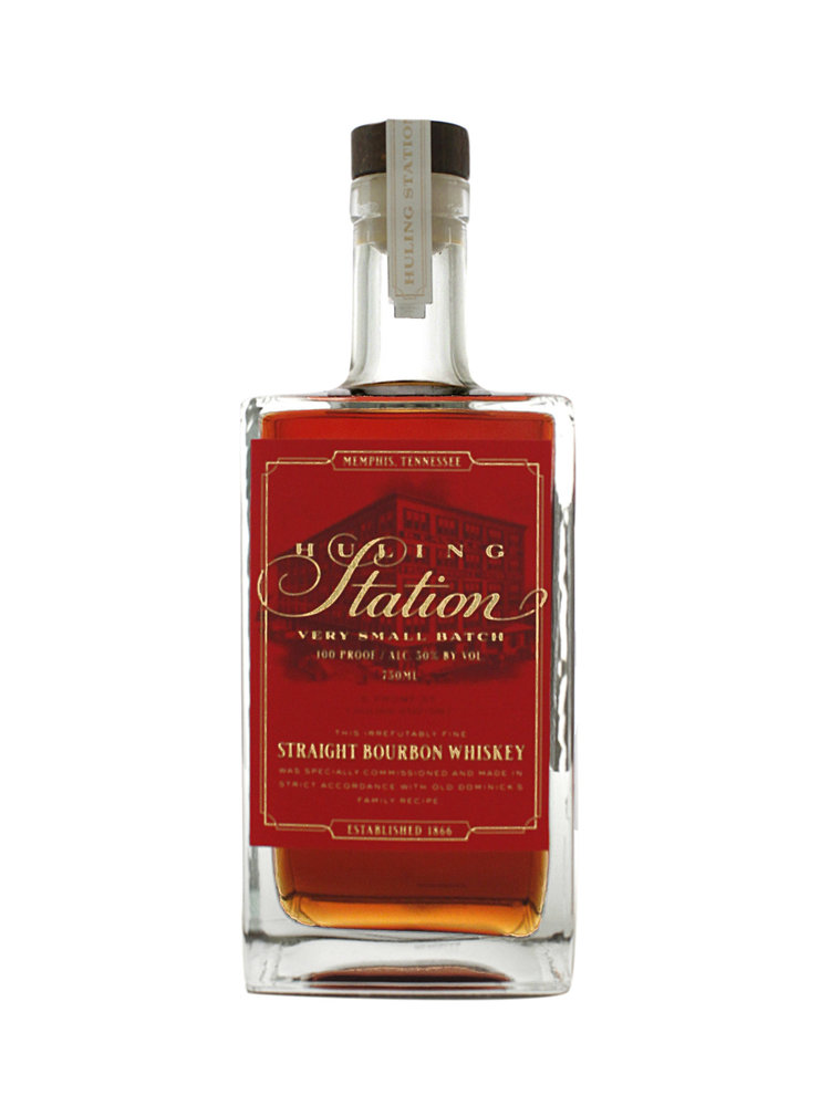 Old Dominick Huling Station Very Small Batch Straight Bourbon Whiskey