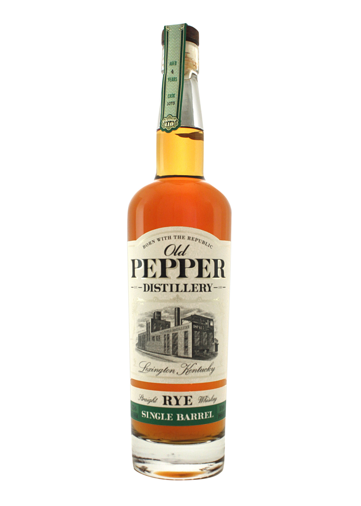 Old Pepper Single Barrel Straight Rye Whiskey