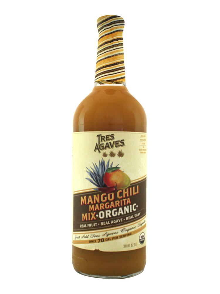 Tres Agaves Mango Chili Margarita Mix - Organic