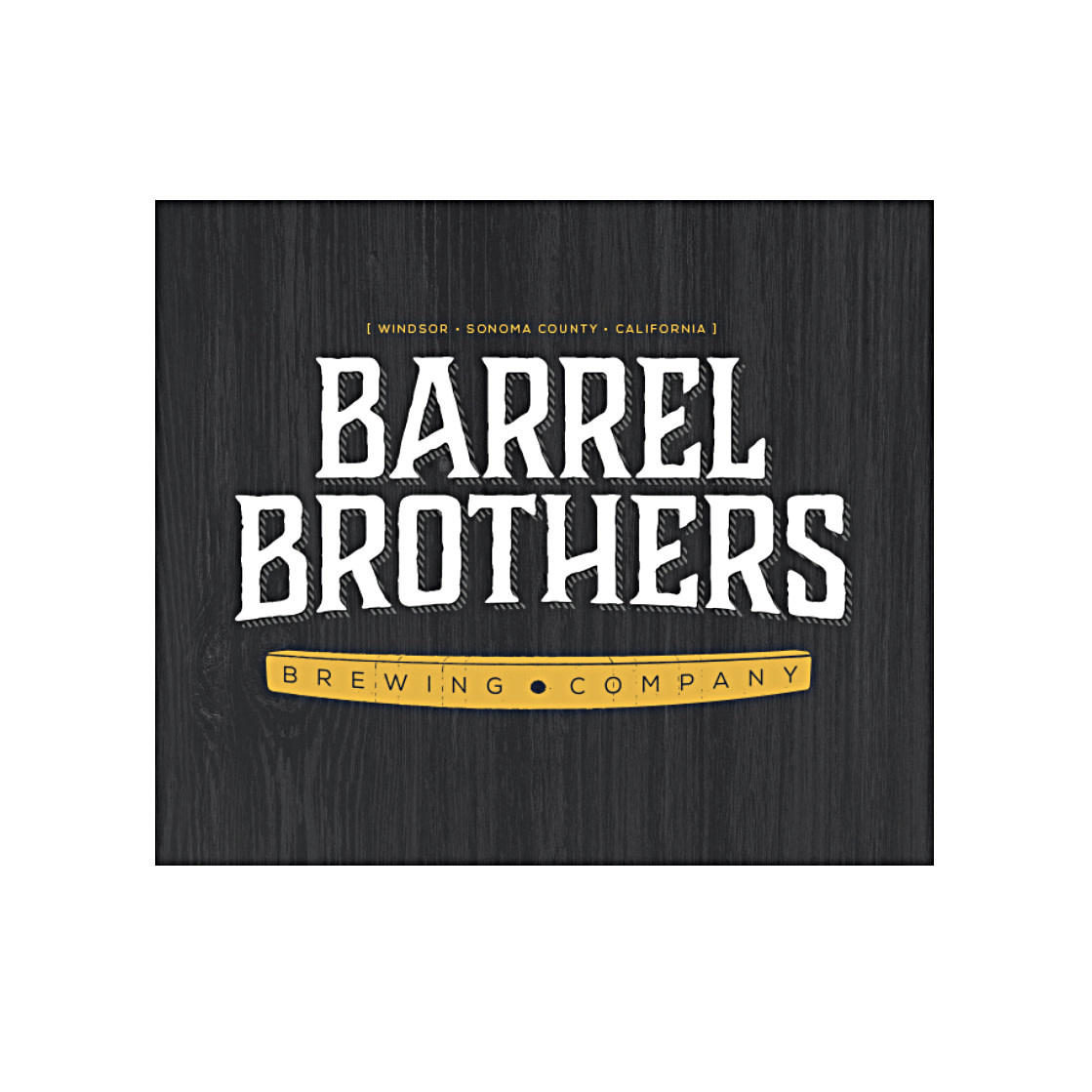 """Barrel Brothers Brewing """"The BrotherMaker"""" Double IPA 16oz. can - Windsor, CA"""