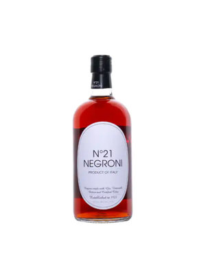 No. 21 Negroni Cocktail, Italy 50ml.