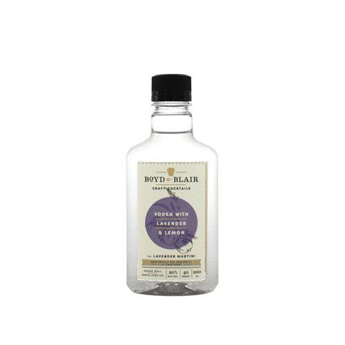 Boyd & Blair Vodka w/ Lavender & Lemon Craft Cocktail 200ml.