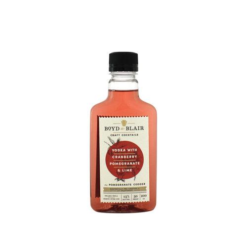 Boyd & Blair Vodka w/Cranberry Pomegranate & Lime Craft Cocktail 200ml.