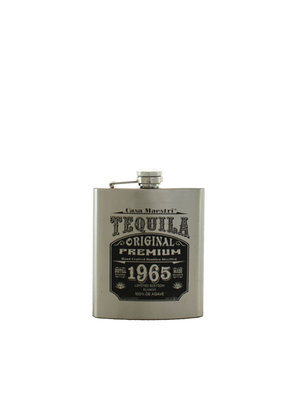 Casa Maestri Tequila Blanco Flask Hand Crafted - 200ml