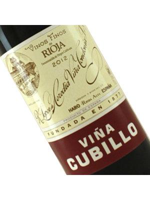 """R. Lopez de Heredia 2012 Rioja Crianza """"Vina Cubillo"""""""