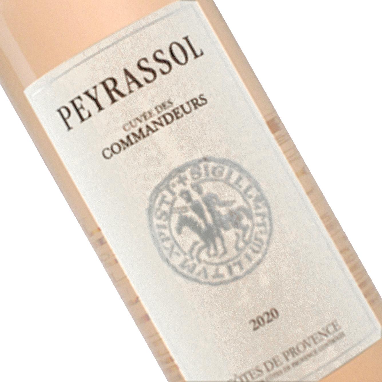 """Chateau Peyrassol 2017 Rose  Commanderie"""" Cotes de Provence"""
