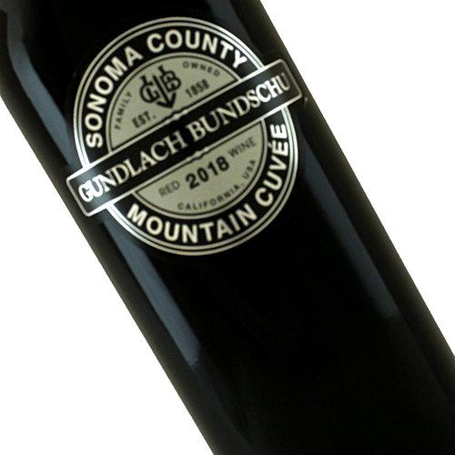 Gundlach Bundschu 2019 Mountain Cuvee Sonoma County