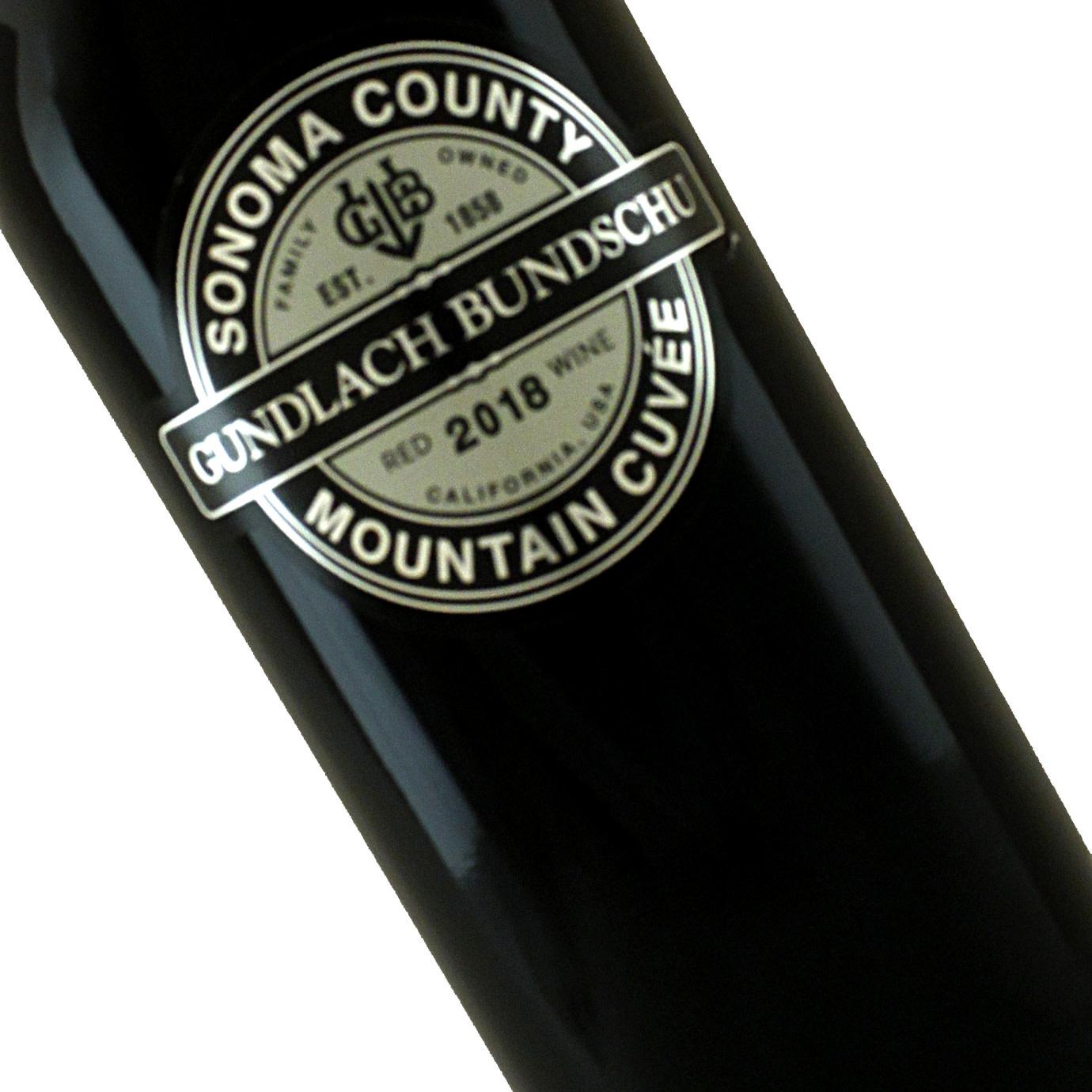 Gundlach Bundschu 2018 Mountain Cuvee Sonoma County