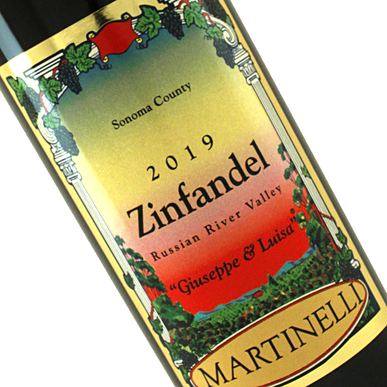 "Martinelli 2016 Zinfandel ""Giuseppe & Luisa"" Russian River Valley"