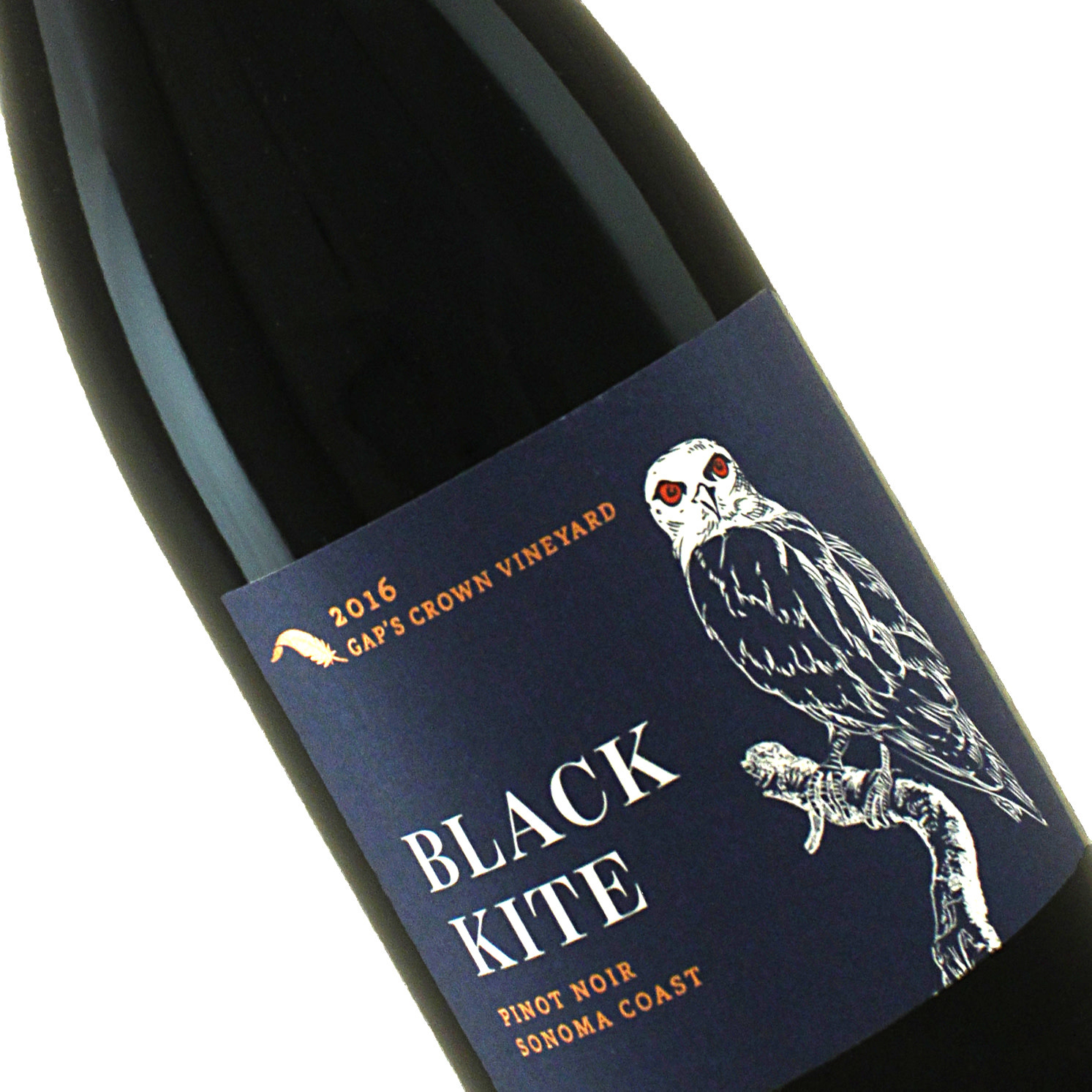 Black Kite 2016 Pinot Noir Cap's Crown Vineyard, Sonoma Coast