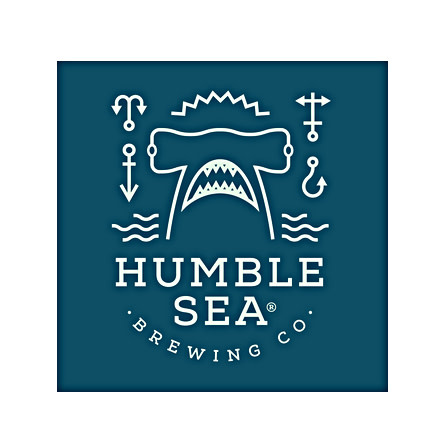 "Humble Sea Brewing ""Sending  A Helping Hand"" DDH Foggy IPA 16oz can- Santa Cruz, CA"