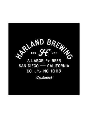 Harland Brewing Japanese Lager 16oz. can - San Diego, CA