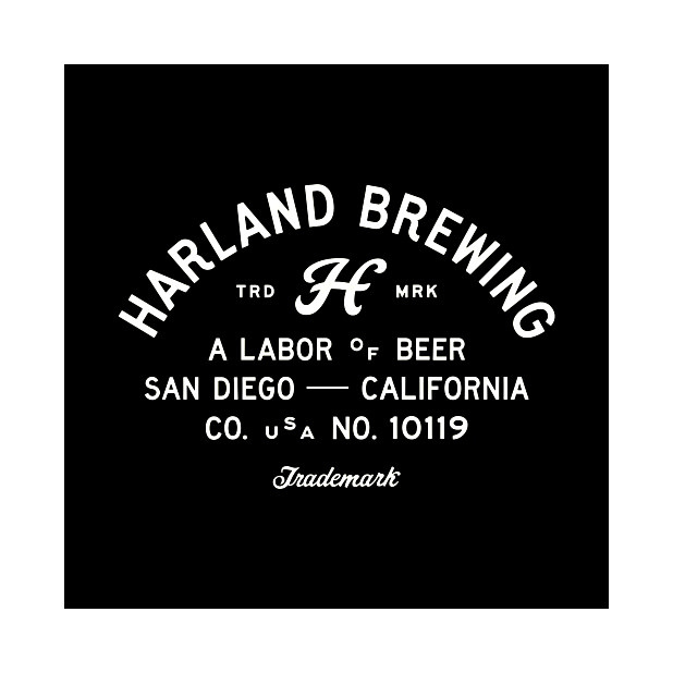 Harland Brewing Japanese Lager 12oz. can - San Diego, CA
