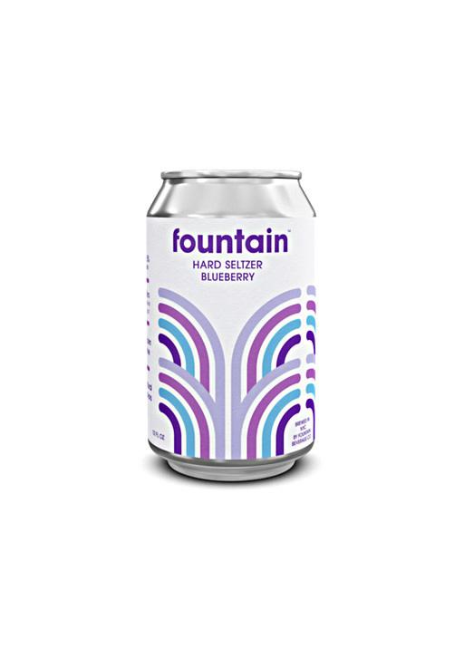 Fountain Blueberry Hard Seltzer 12oz. can - San Diego, CA