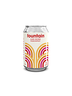 Fountain Passionfruit Hard Seltzer 12oz. can - San Diego, CA
