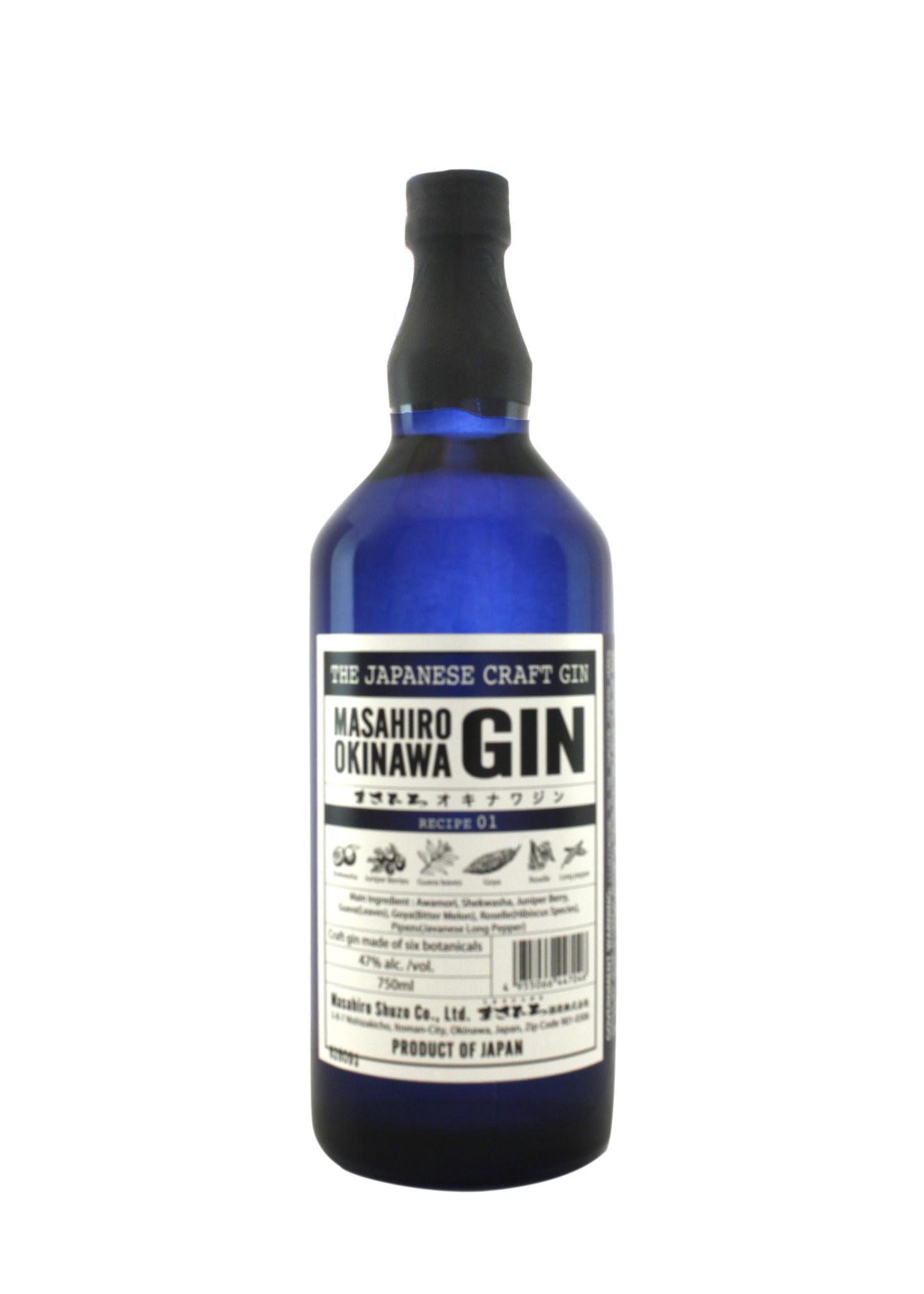 Masahiro Okinawa Gin, Recipe 01, Japan