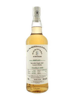 Mortlach 2008 Signatory Vintage Single Malt Scotch Whisky