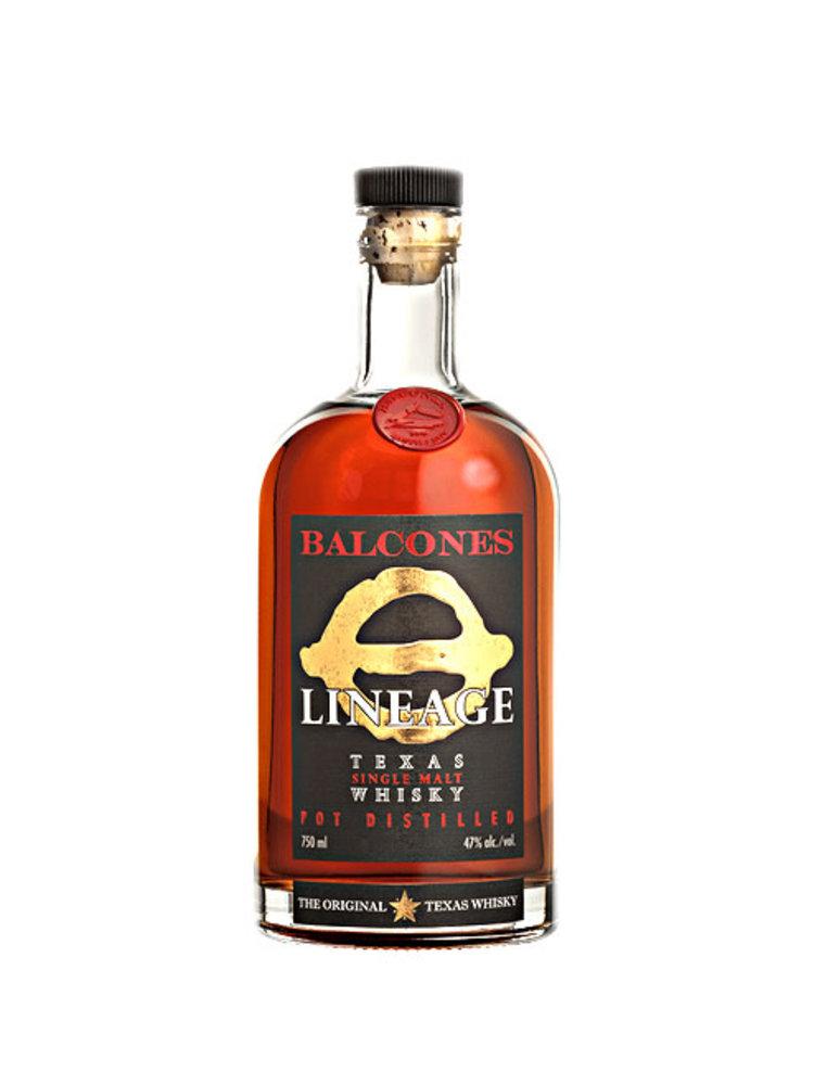 "Balcones ""Lineage"" Texas Single Malt Whisky"