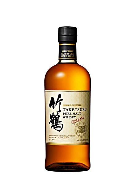 "Nikka Whisky ""Taketsuru"" Pure Malt Whisky White Label"