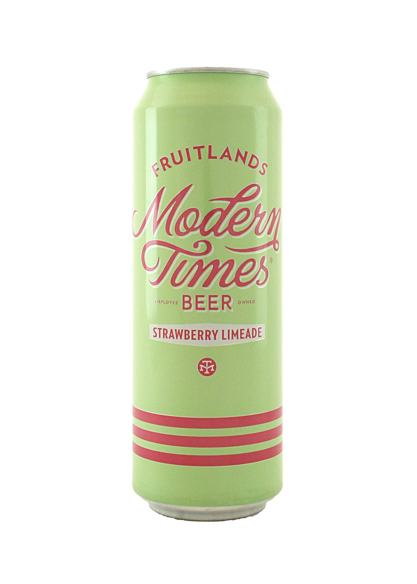 """Modern Times Beer """"Fruitlands Strawberry Limeade"""" Gose Ale 16oz. can -"""