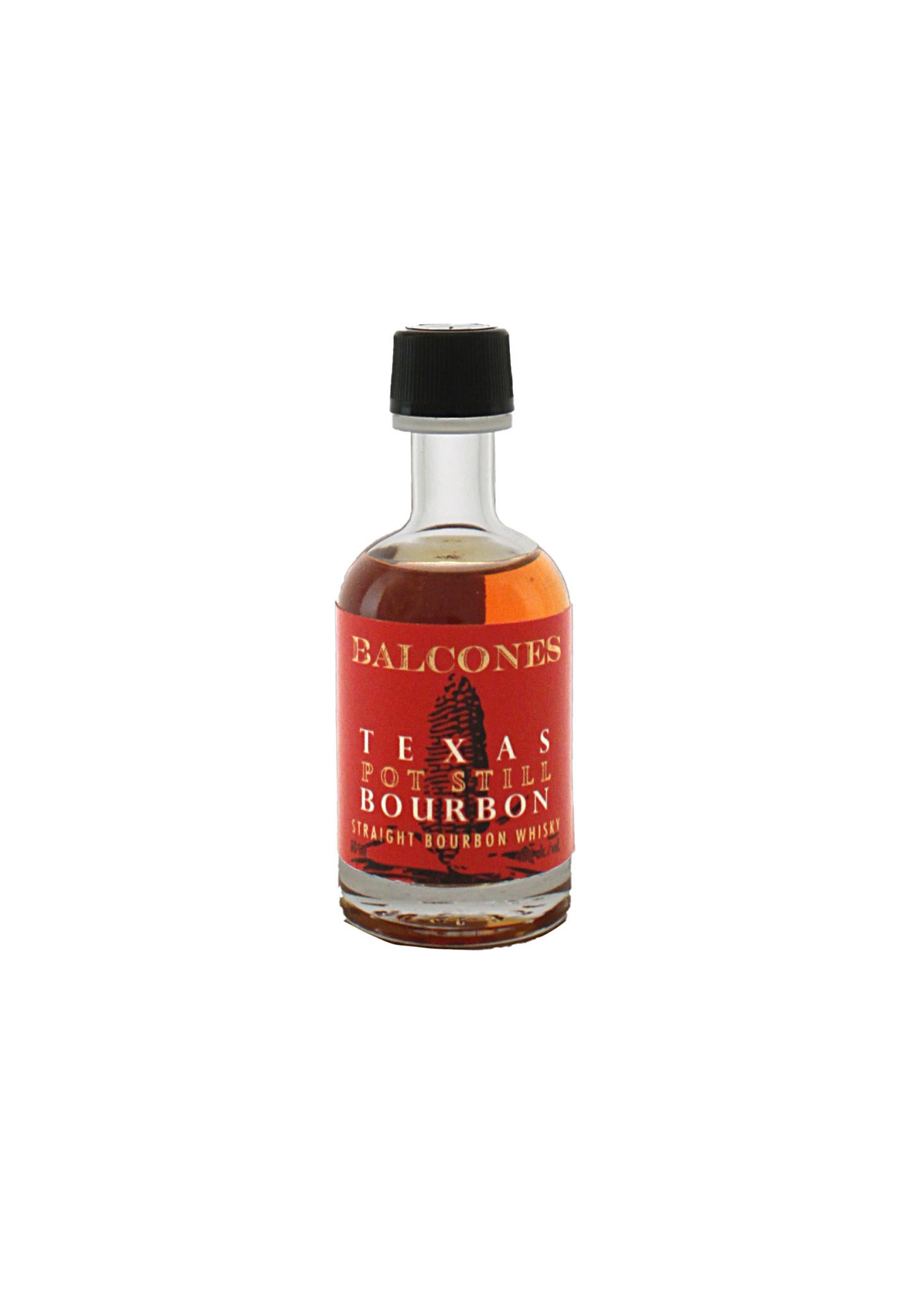 Balcones Texas Pot Still Bourbon Whiskey 50ml.